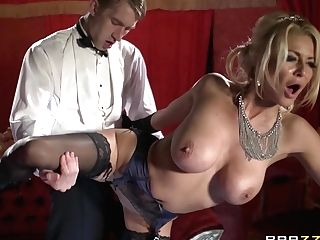 Gorgeous Blonde Cougar Tia Layne Lets Danny D Fuck Her Cunt From...