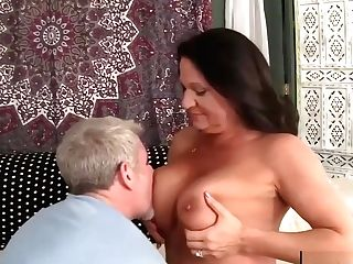 Grand-ma Takes Fat Dick