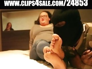 Latina Bbw Foot Homage