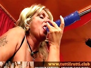 Euro Matures Christina Sexmachine Ass Fucking