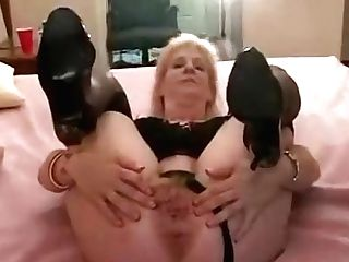 Crazy Homemade Blonde, High High-heeled Slippers Pornography Movie