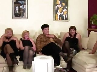 Incredible Group Romp With Pissing With Matures